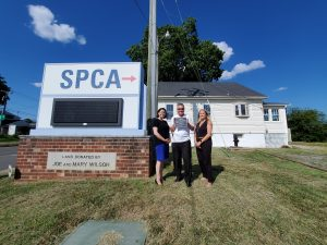 Building dedication of the Joe and Mary Wilson Community Resource Center at the Fredericksburg SPCA